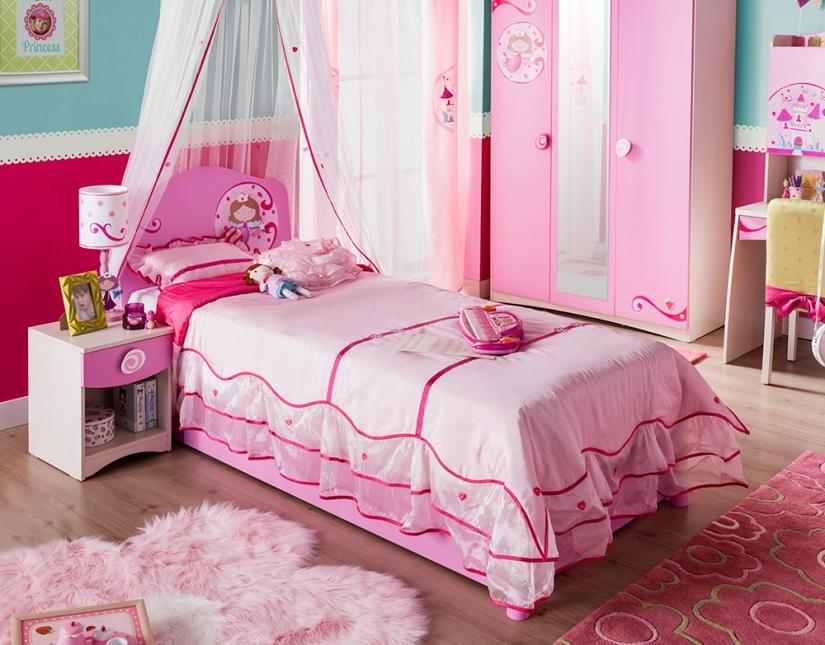 Παιδικό κρεβάτι για κορίτσια