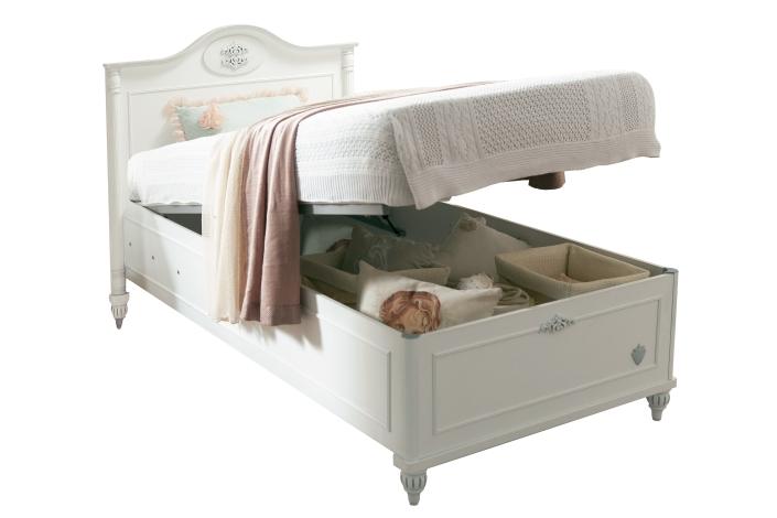 Παιδικό κρεβάτι με αποθηκευτικό χώρο Romantic