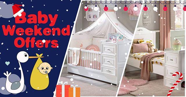 0f7feec9986 Baby weekend offers, Δείτε όλες τις προσφορές μας στις βρεφικές κούνιες στο  www.cilek.gr #xmas2018