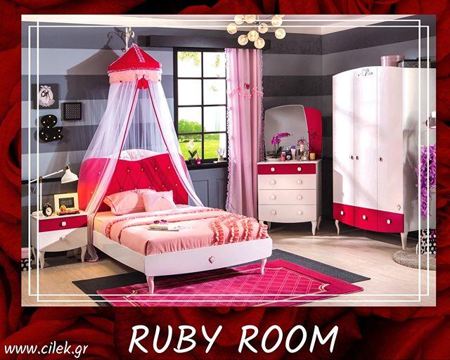 1077a74ca37 Παιδικό δωμάτιο Ruby, ένα υπέροχο παιδικό δωμάτιο με δυναμικές αντιθέσεις,  δείτε το στο www.cilek.gr